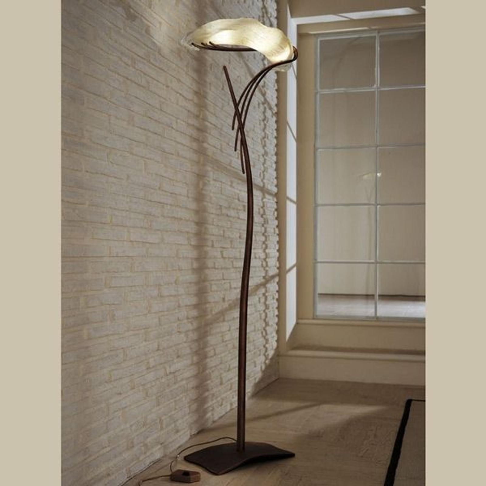 Artystyczna stylizowana lampa stojąca ROMA