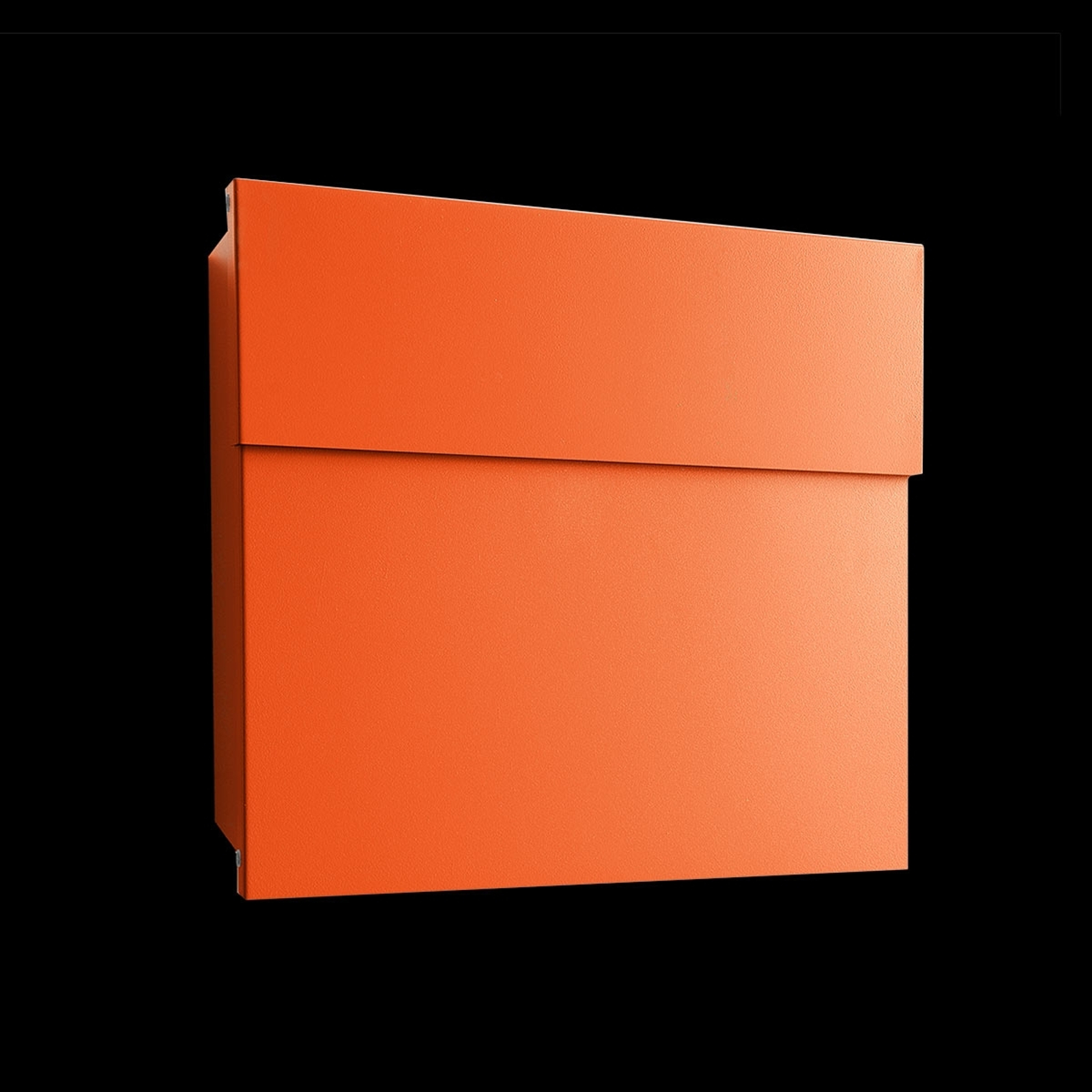 Buzón de diseño Letterman IV, naranja