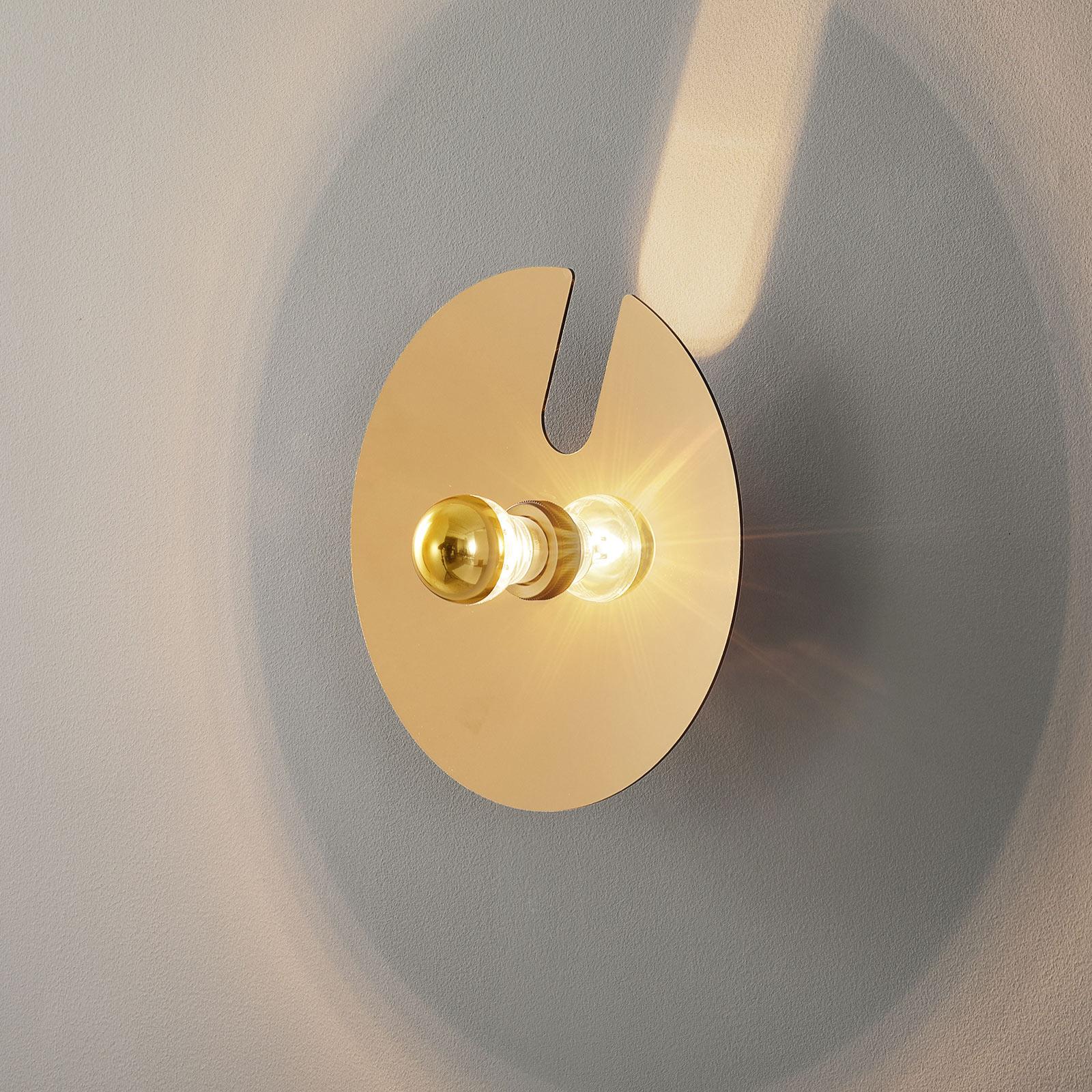 WEVER & DUCRÉ Mirro 1.0 vegg 30 cm svart/gull