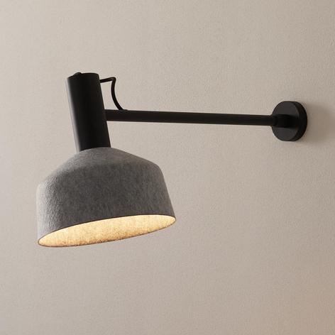 WEVER & DUCRÉ Roomor applique 2.0 25cm noir/gris