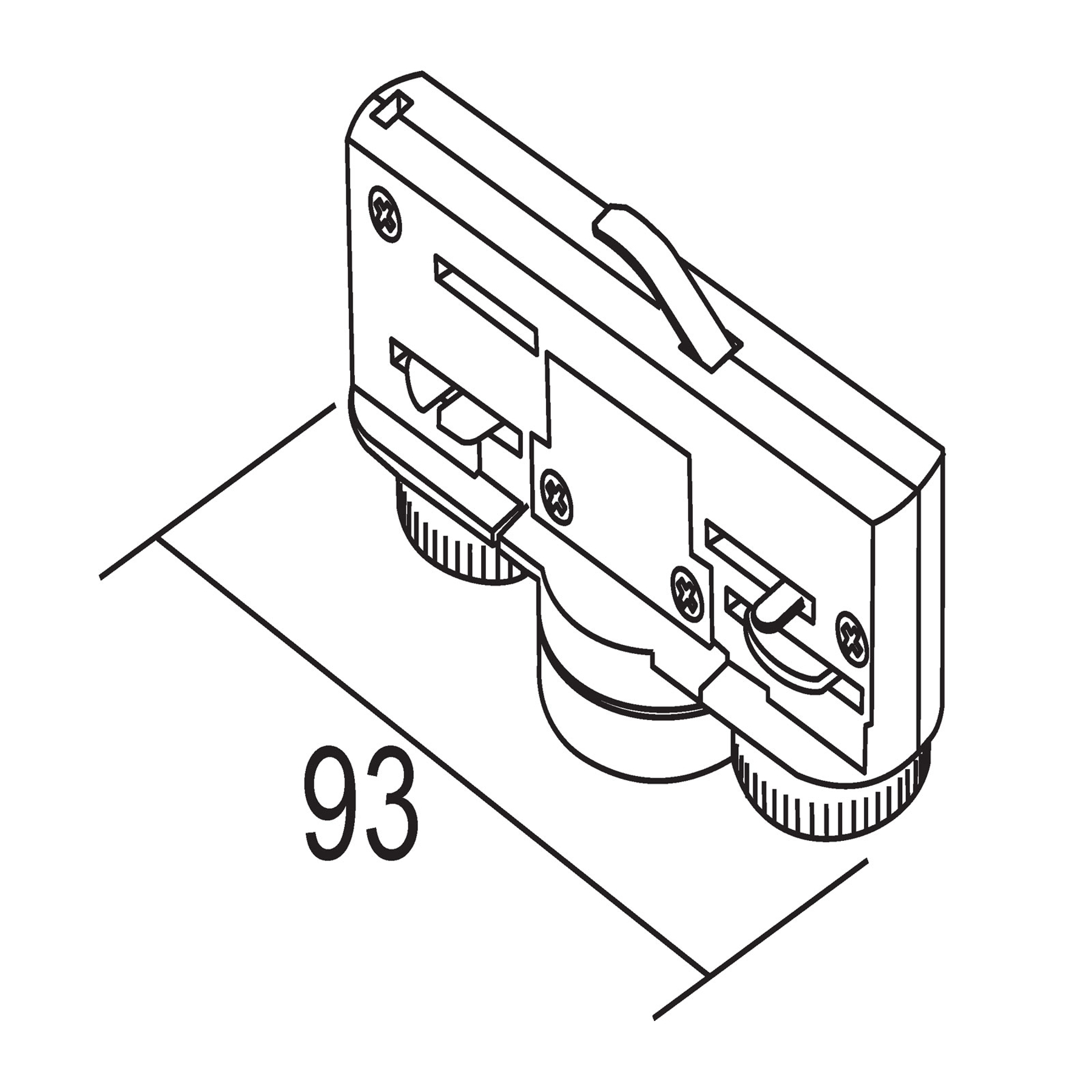 Ivela adattatore trifase 220-240V 10kg, argento