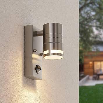 Lindby Catalin buitenwandlamp, sensor