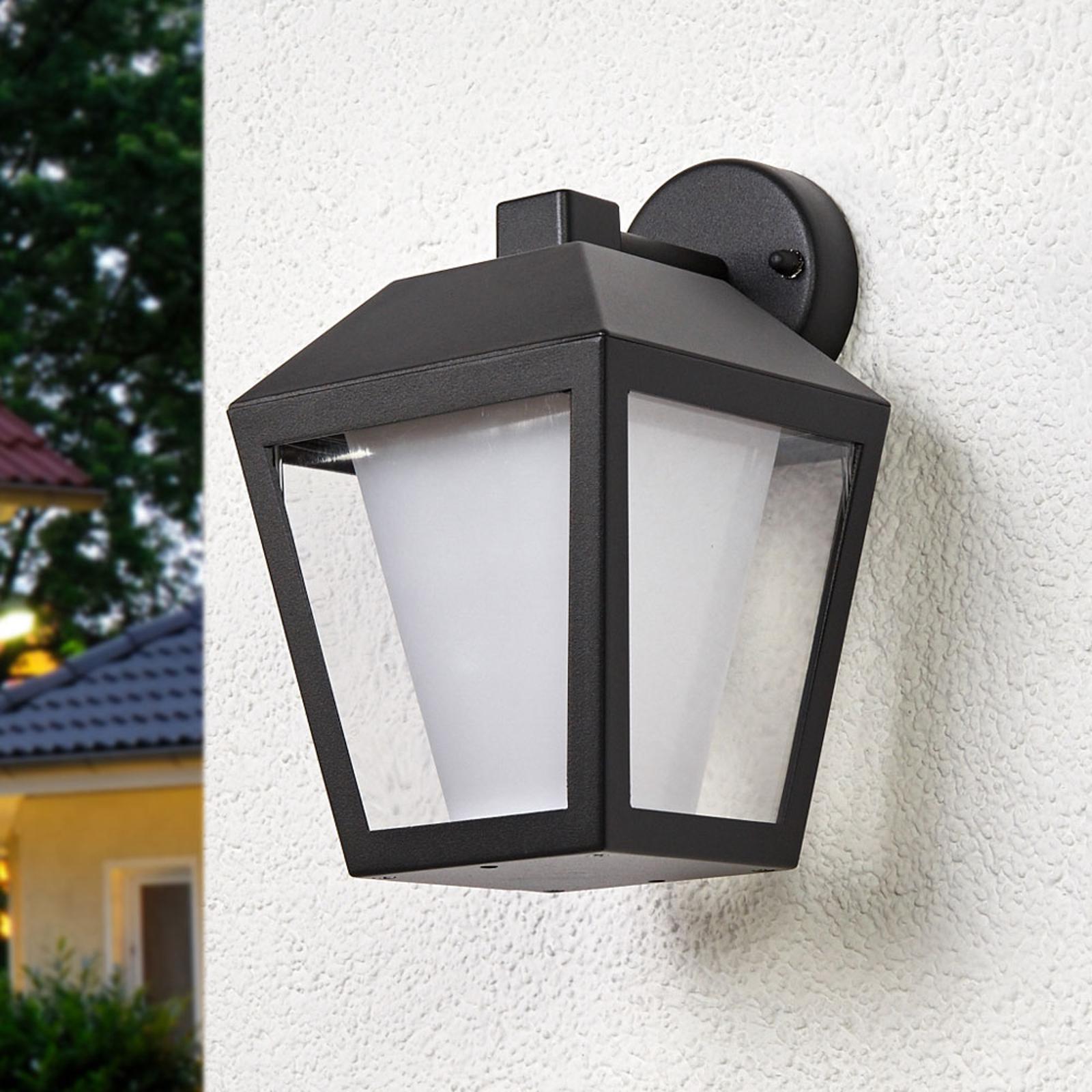 Applique d'extérieur LED foncée Keralyn