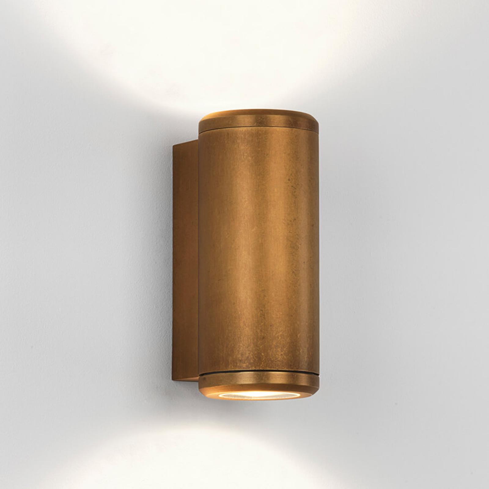 Élégante applique d'extérieur en laiton Jura Twin