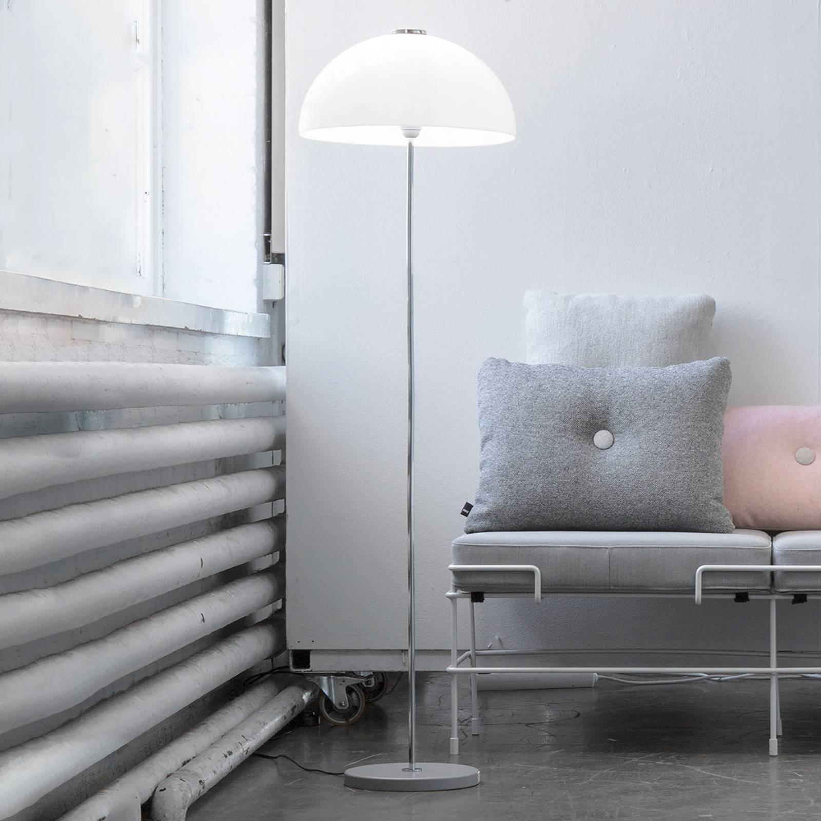 Innolux Kupoli vloerlamp grijze voet