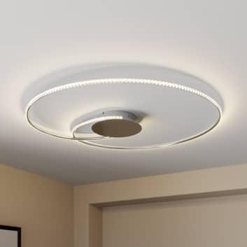 Lindby Joline LED stropní světlo, krystal, 90 cm