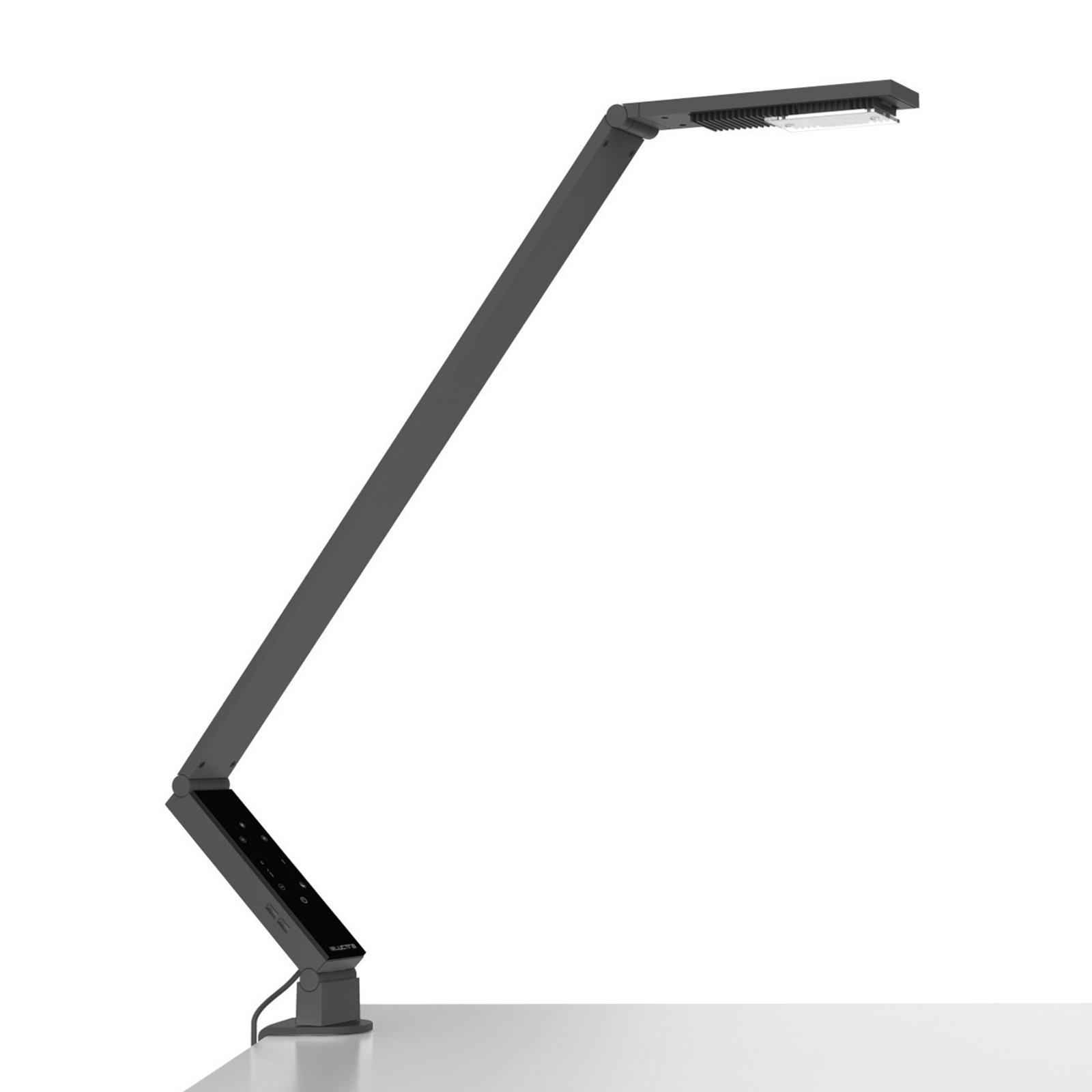 Luctra TableProLinear lampe à poser pince noire