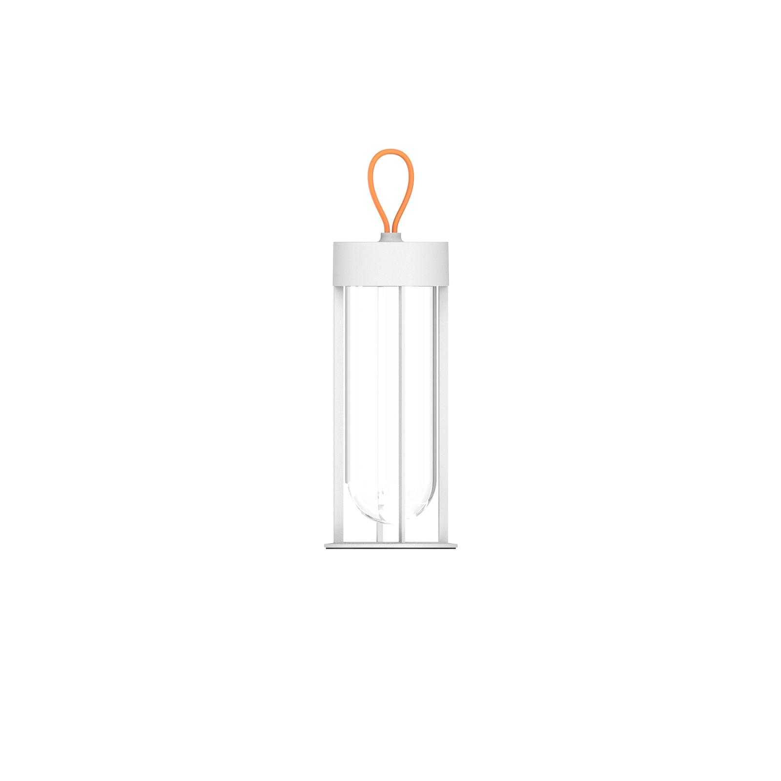 FLOS In Vitro Unplugged-LED-lamppu valkoinen 3000K
