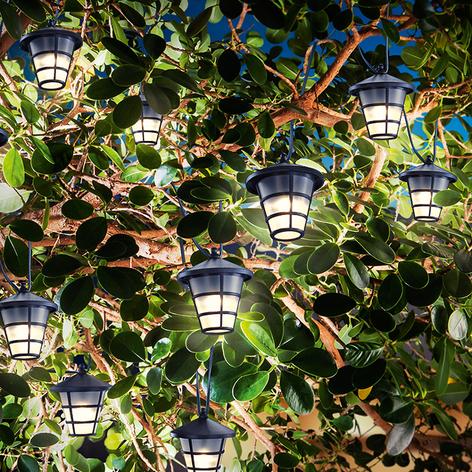 Solar-LED-ljusslinga Asia Style