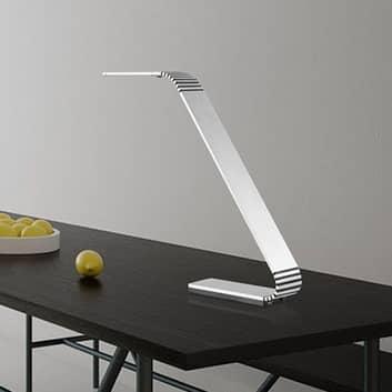 TRAE Maze X LED bureaulamp, 4.000 K alu
