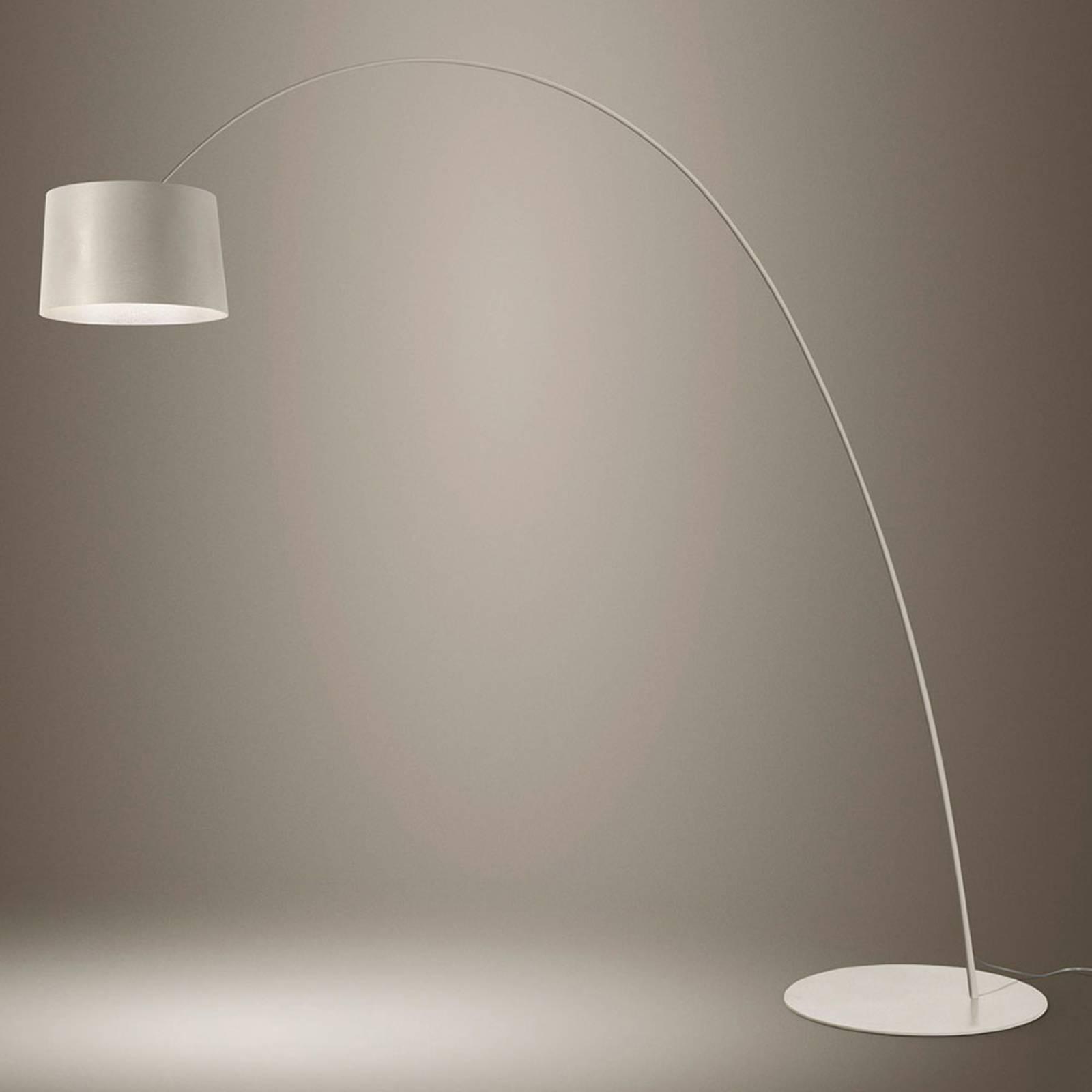 Foscarini Twiggy Elle LED-Stehleuchte greige