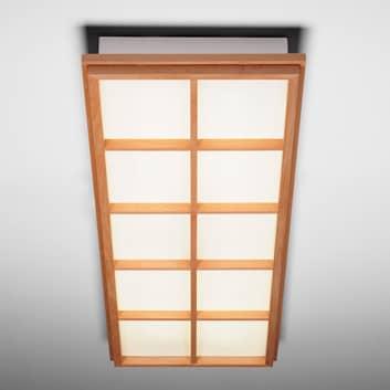 Stropní svítidlo Kioto 10 z bukového dřeva