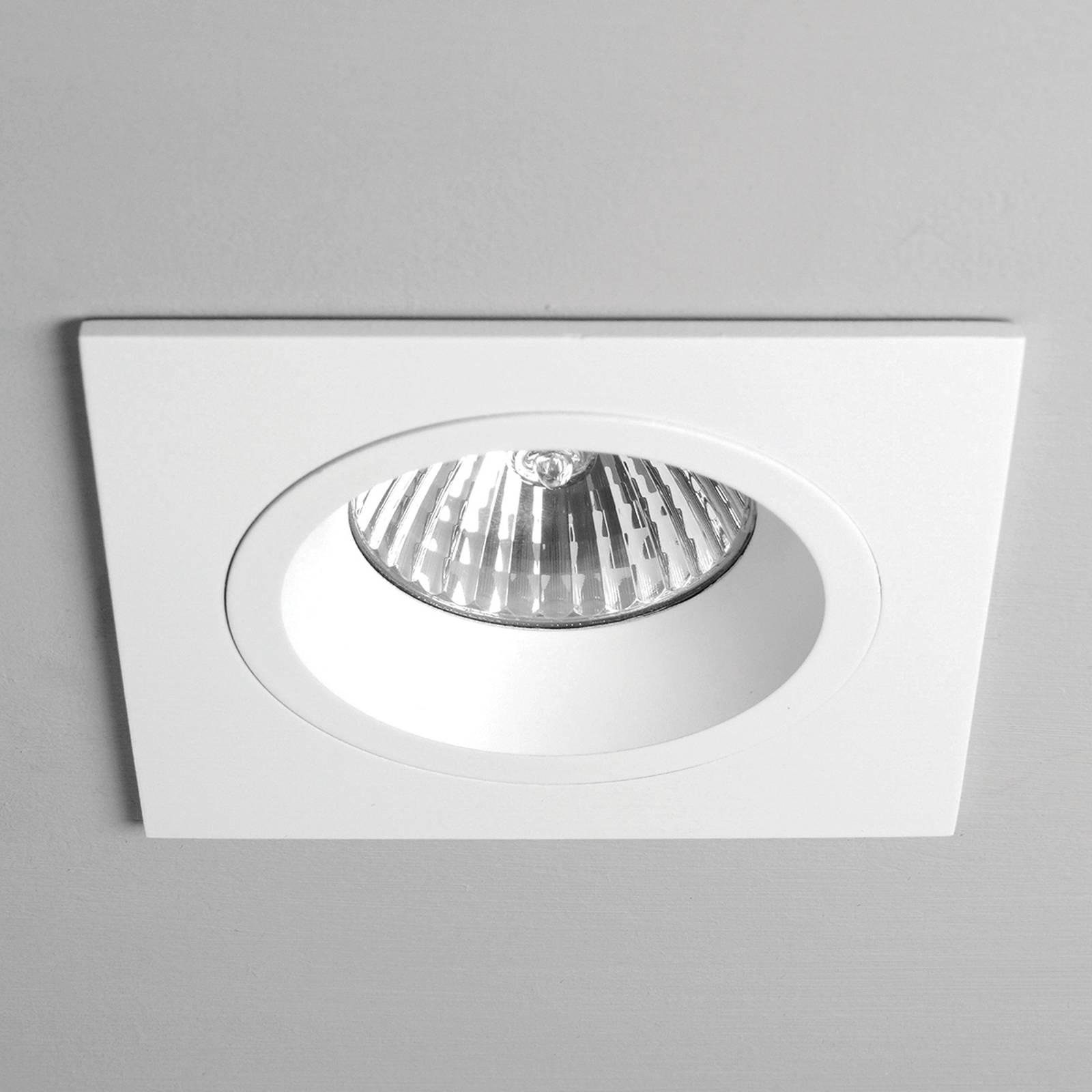 Astro Taro Square Fixed reflektor sufitowy, biały
