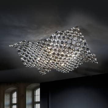 Deckenleuchte Saten aus Kristall, 56 cm
