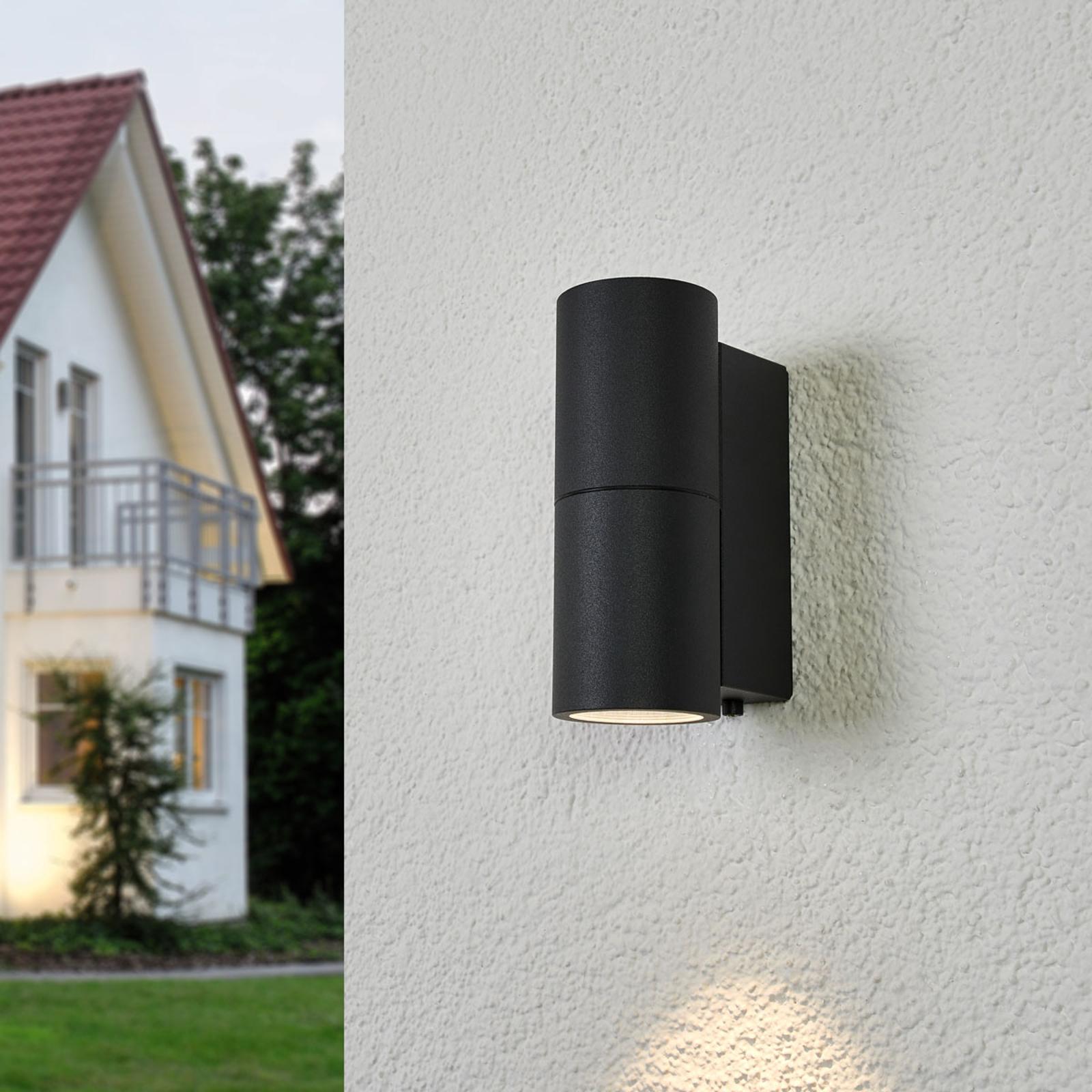 BEGA 66649K3 wall lamp graphite 3,000 K 1-sided_1566024_1