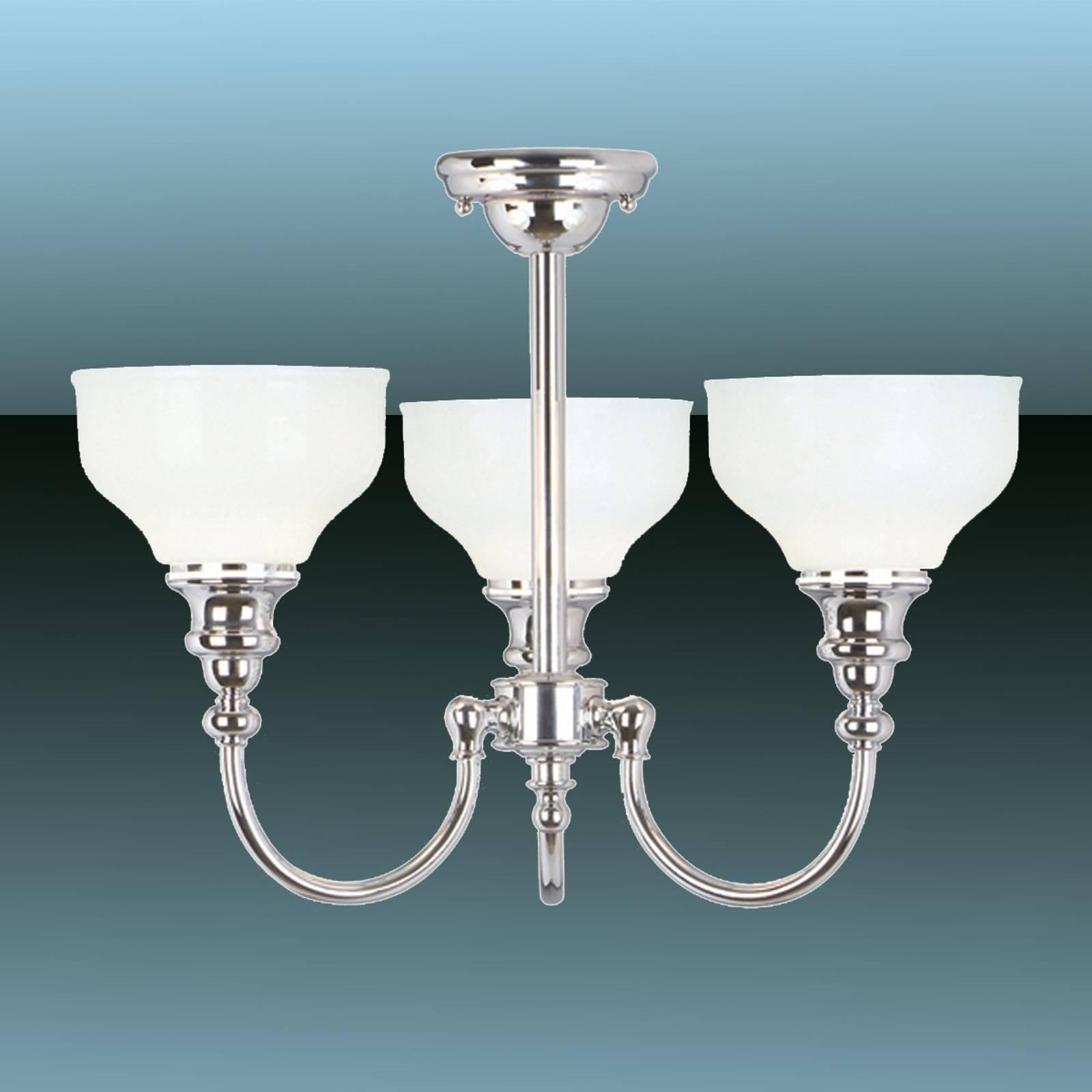3-punktowa łazienkowa lampa sufitowa Cheadle