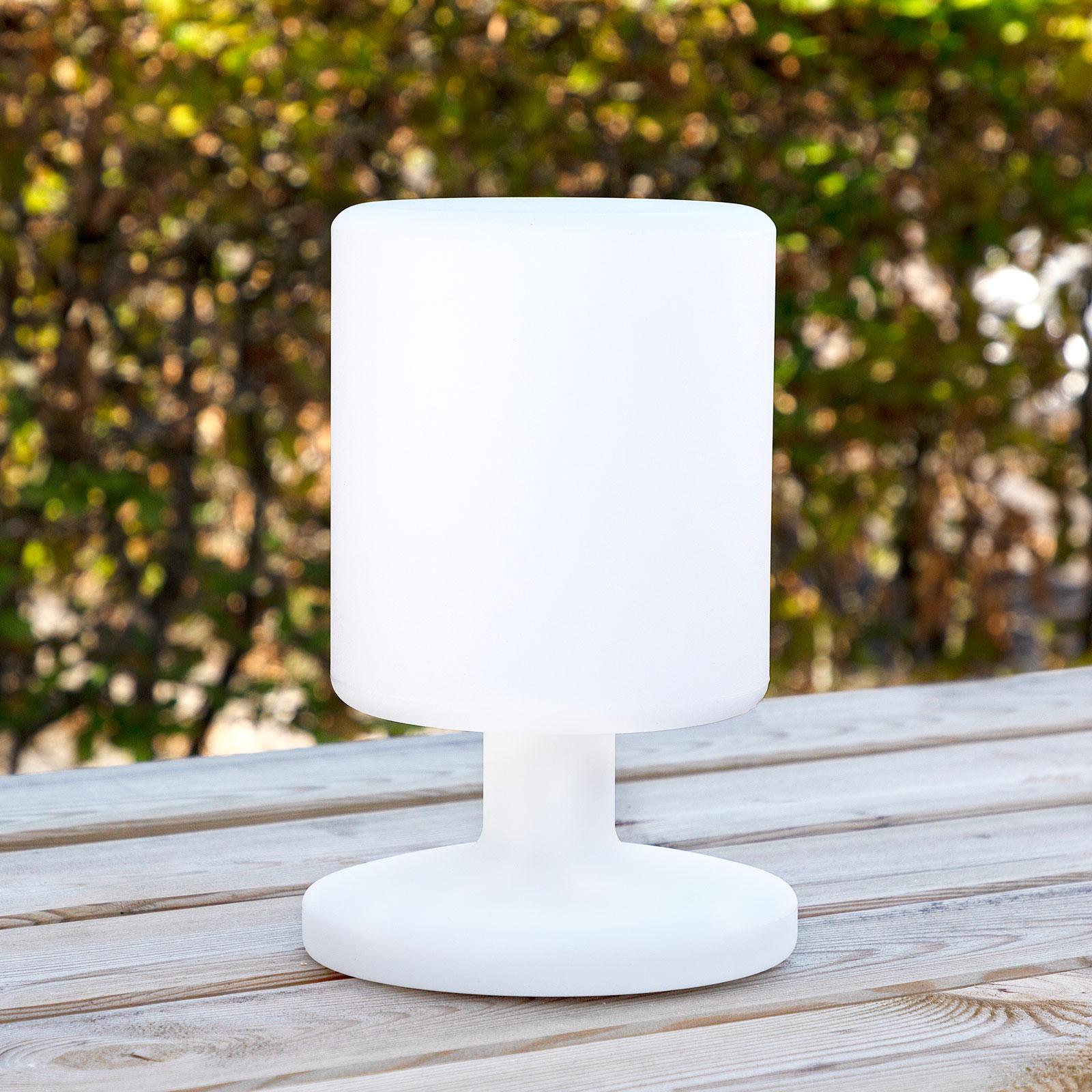 Lille batteridrevet LED lampe   Køb en billig lampe med