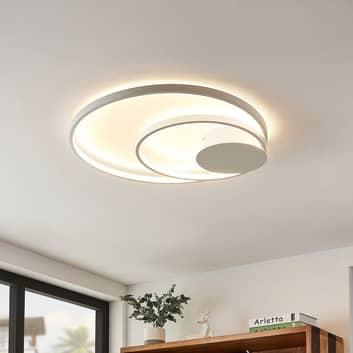 Lindby Nerwin -LED-kattovalo, pyöreä, valkoinen