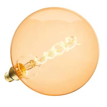 LED-globe-lamppu E27ToLEDVintageG200dim 5,5W kulta