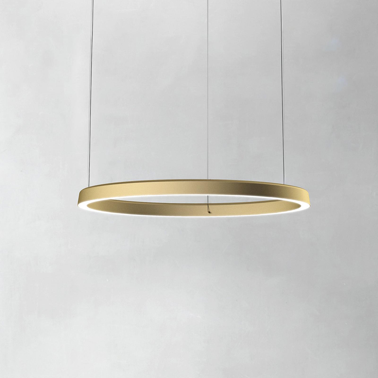 Luceplan Compendium Circle 72cm, ottone
