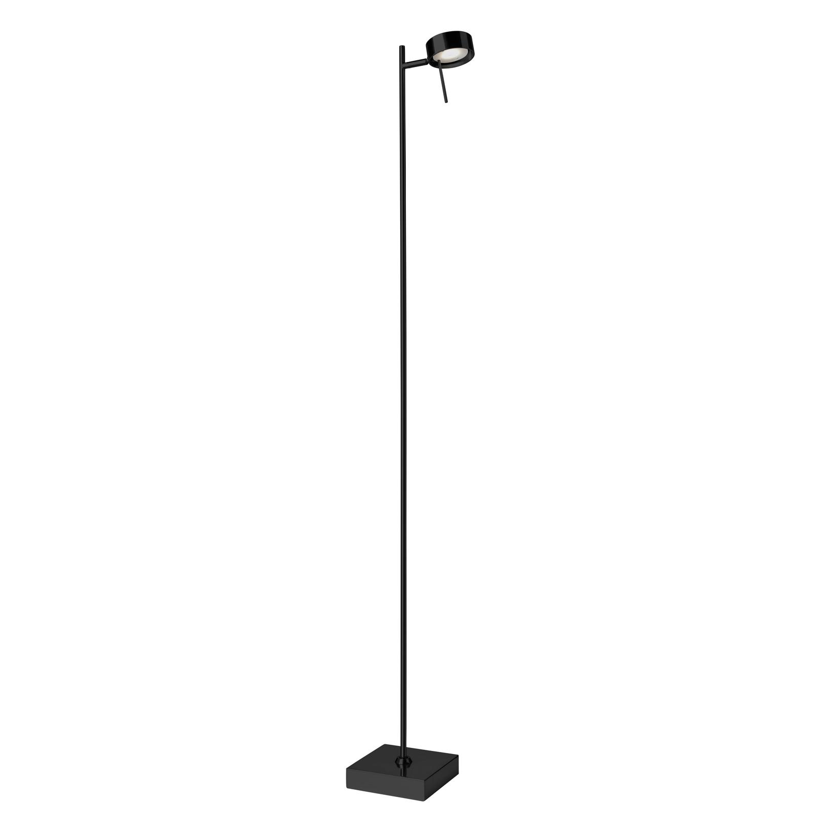 Lampa stojąca LED Bling, ściemniacz, 1-pkt. czarna