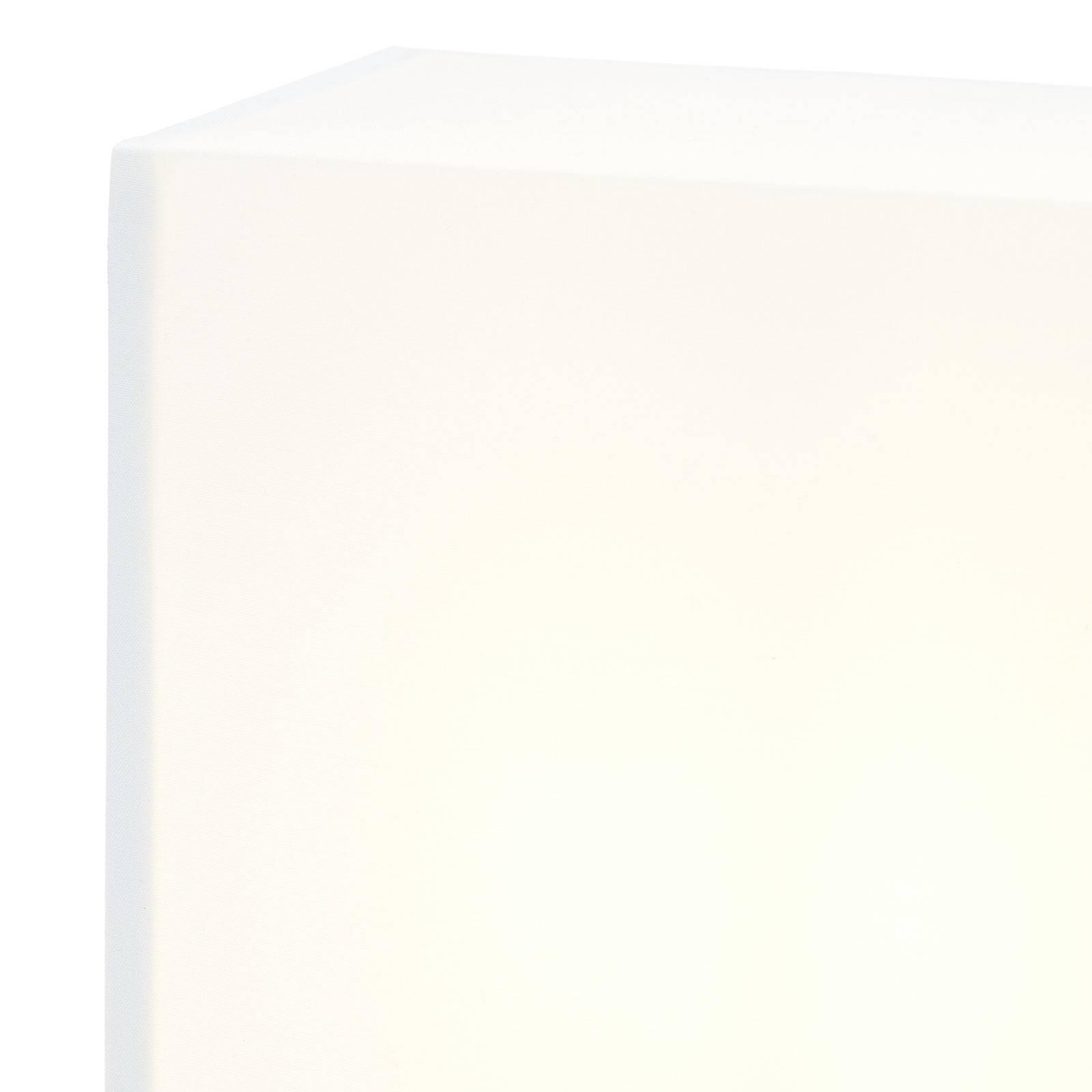 Lucande Patrik Wandleuchte eckig Höhe 25cm weiß