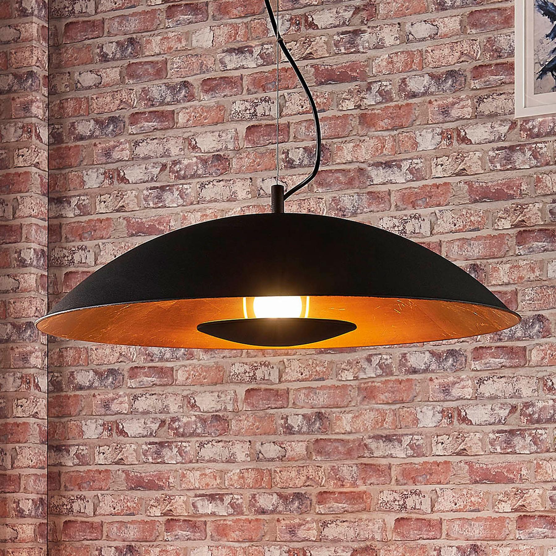 Pośrednio świecąca lampa wisząca Emilienne