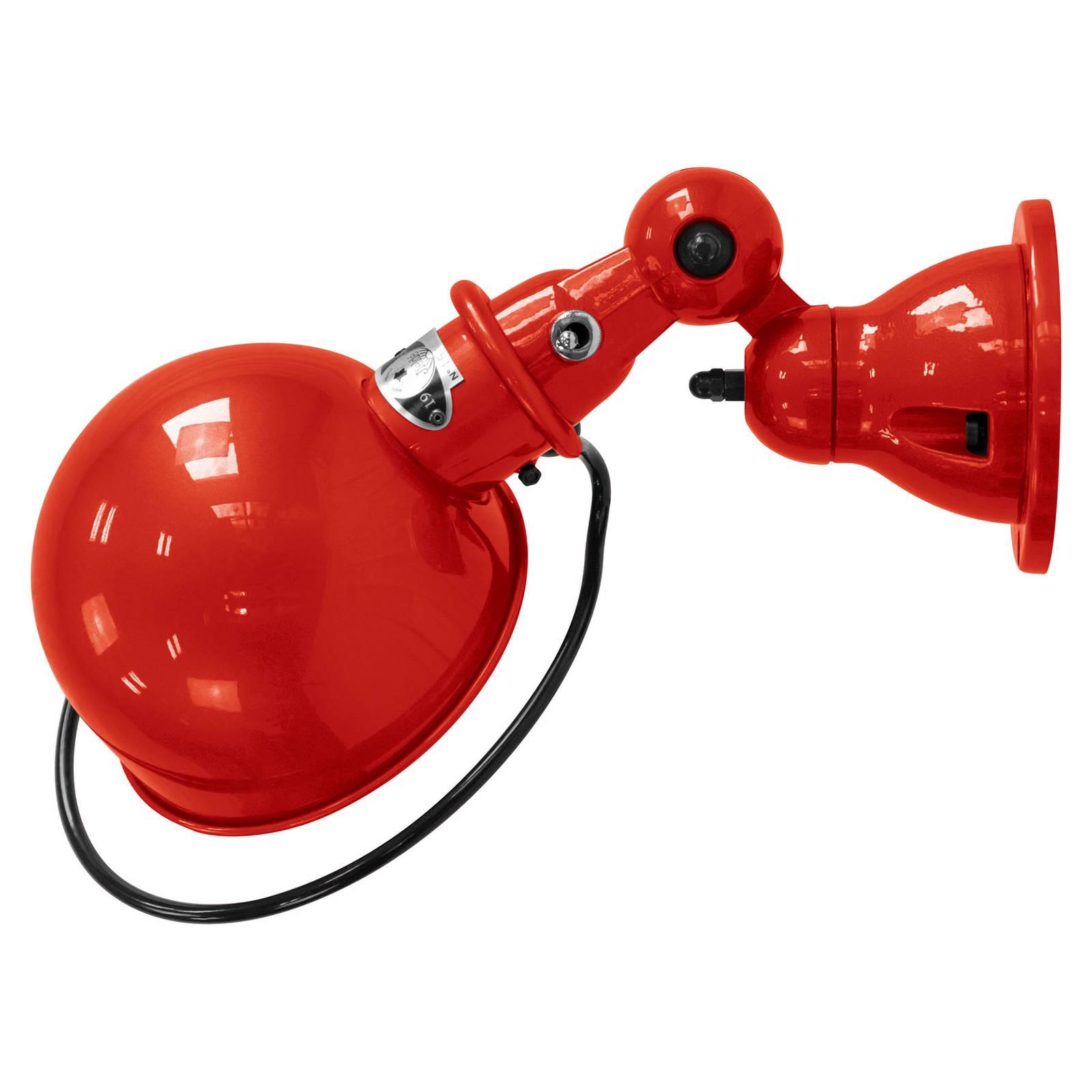 Jieldé Loft D1000 wandlamp industrieel rood