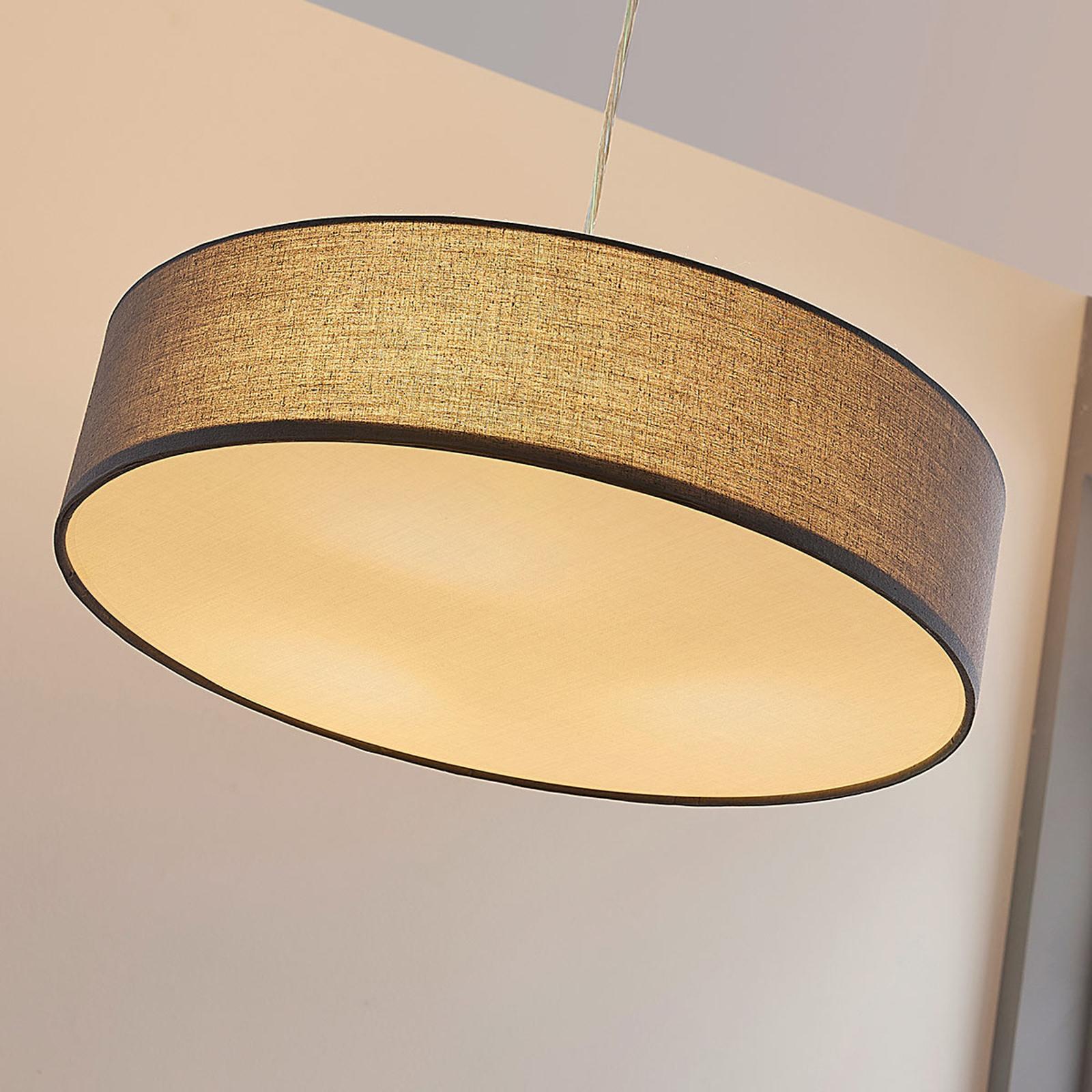 Tygtaklampa Sebatin i grått m. E27 LED lampor | Lamp24.se