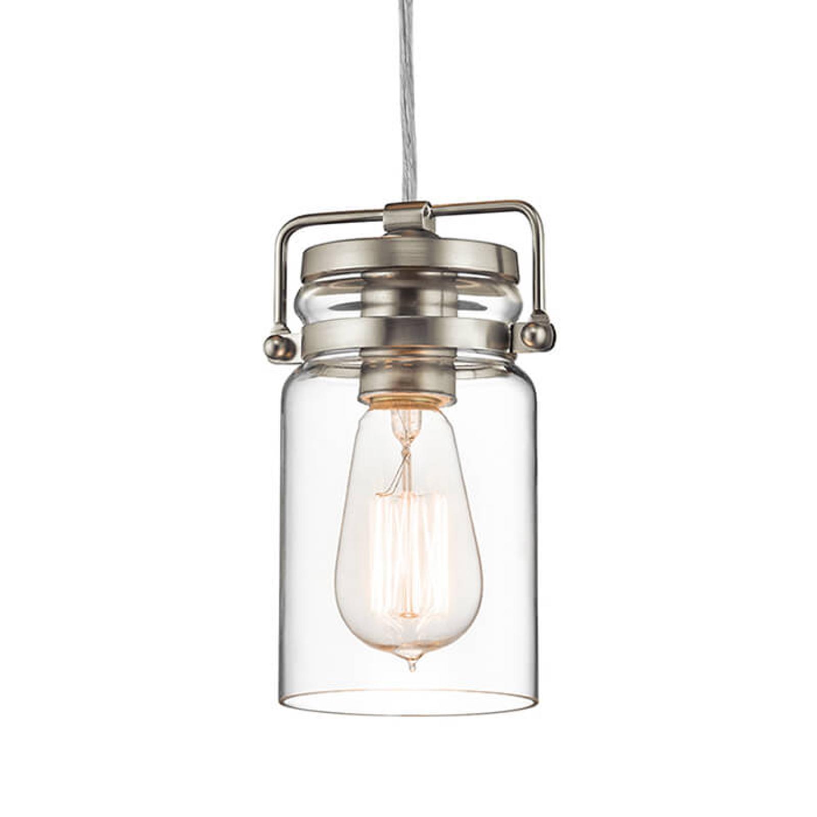 Actueel ontworpen hanglamp Brinley in retrostijl