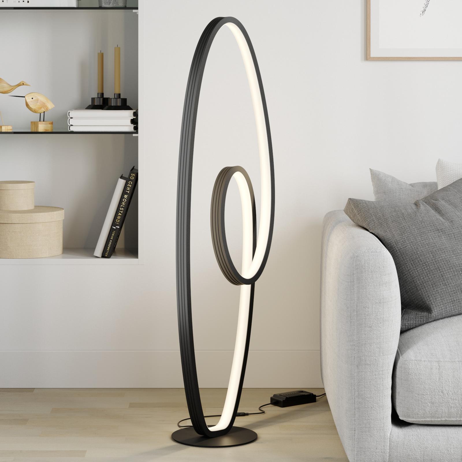 Lucande Bronwyn lampa stojąca LED