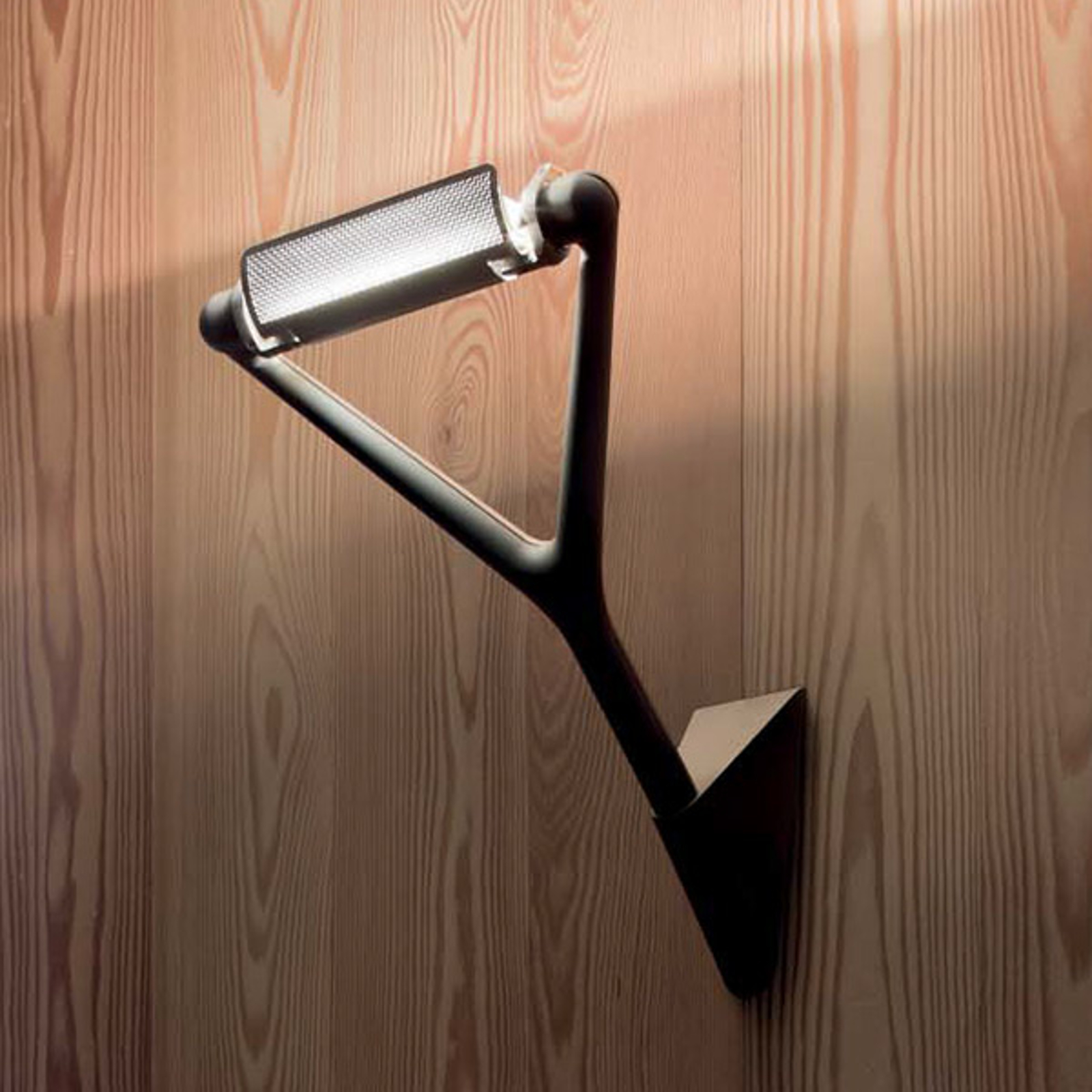 Luceplan Lola - schwarze Wandlampe