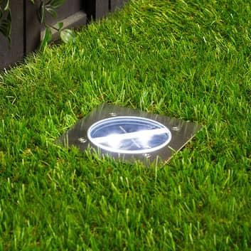 Spot encastré dans le sol LED Lugo IP44, carré