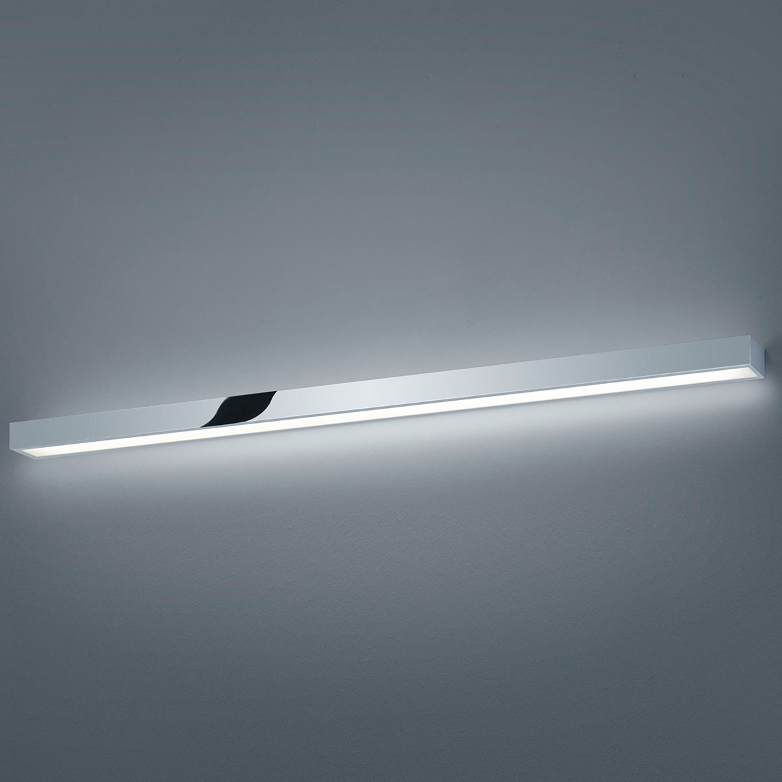 LED spiegellamp Helestra Theia, verchroomd 120cm