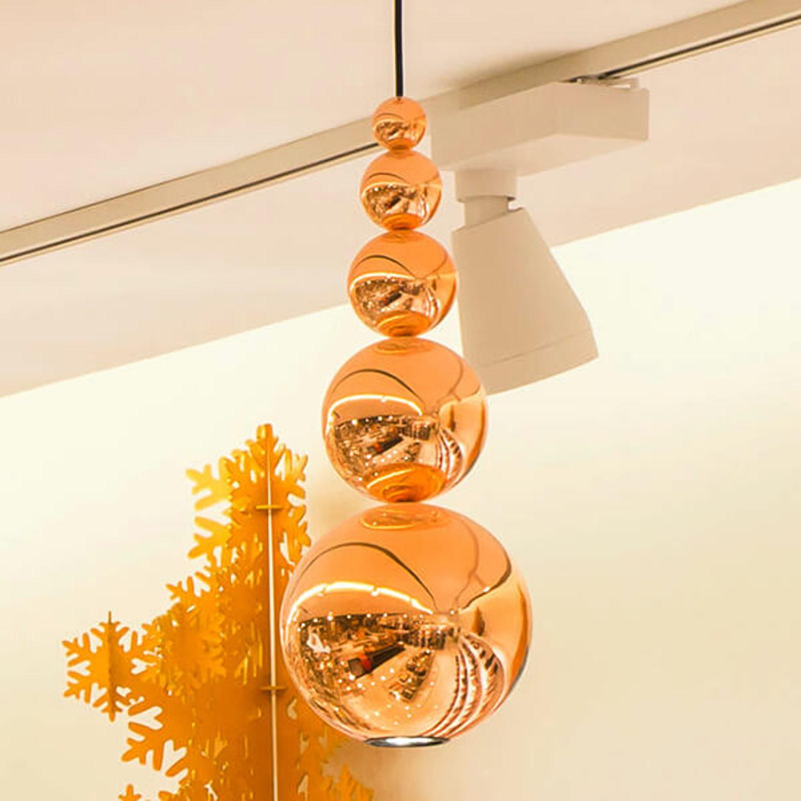 Innermost Bubble -hængelampe i kobber