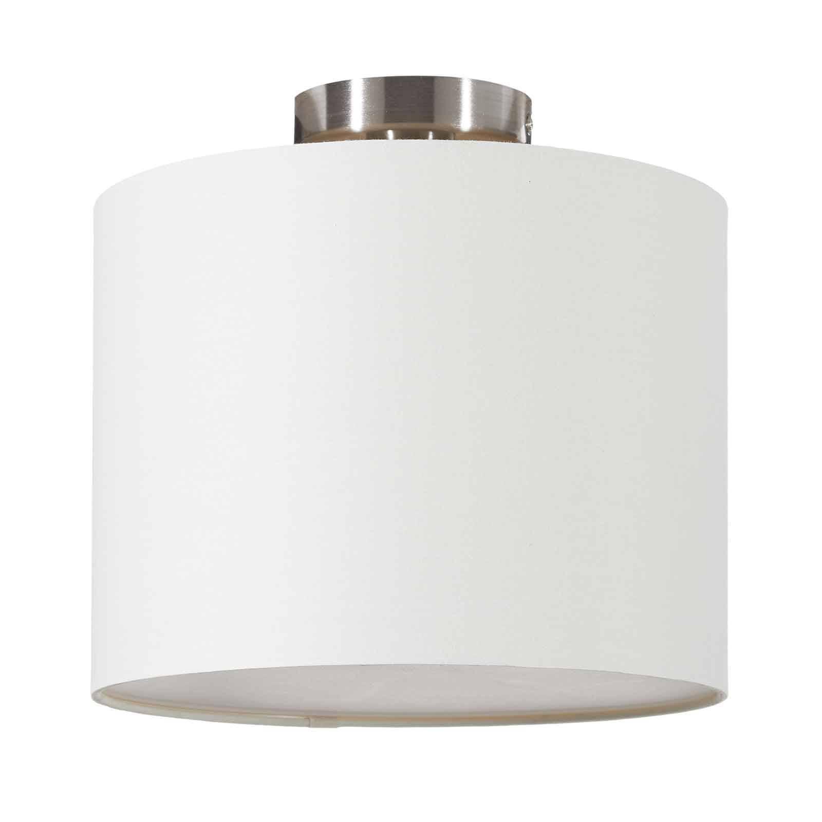 Lucande Patrik lampa sufitowa Ø30cm kremowa
