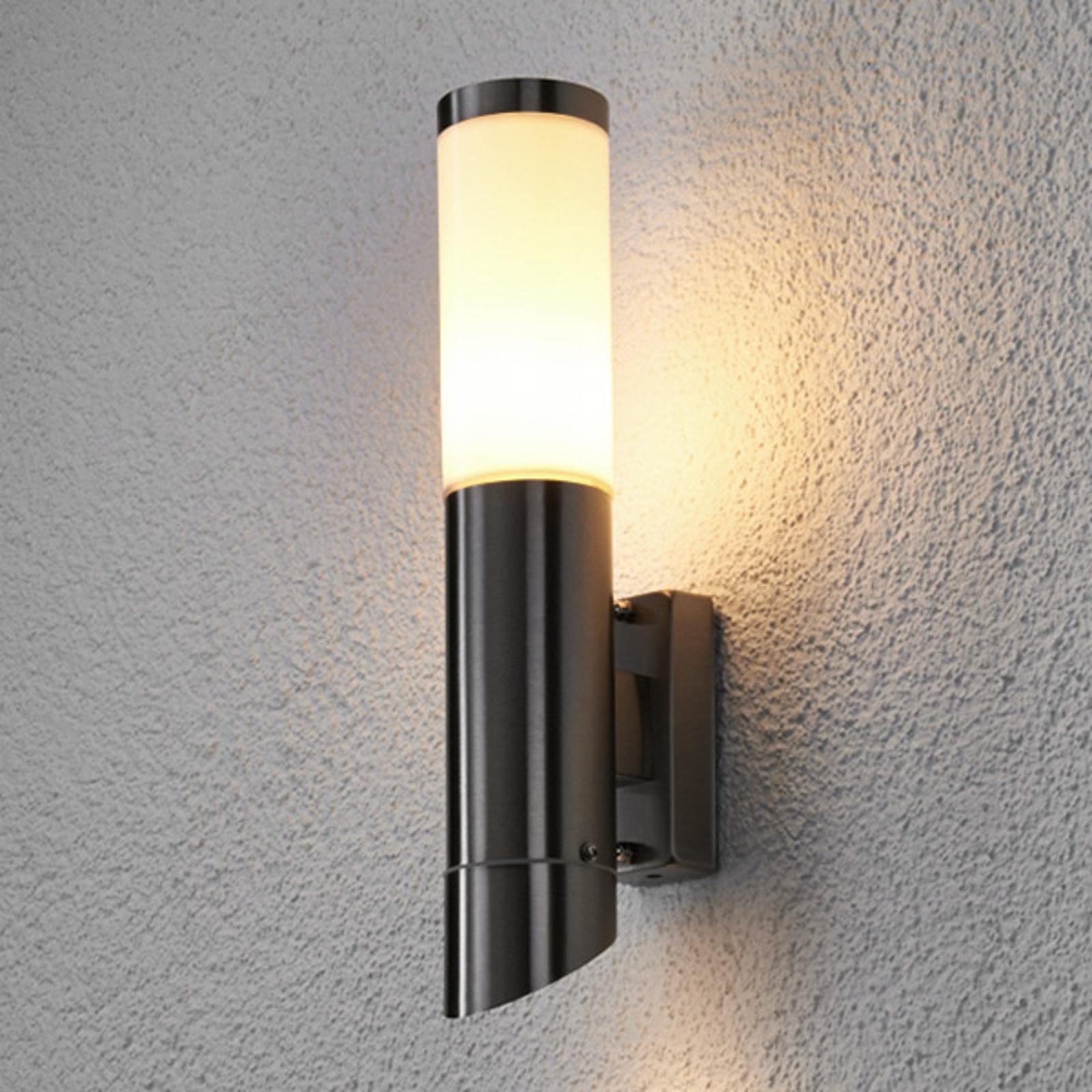 Frederik - zewnętrzna lampa ścienna stal