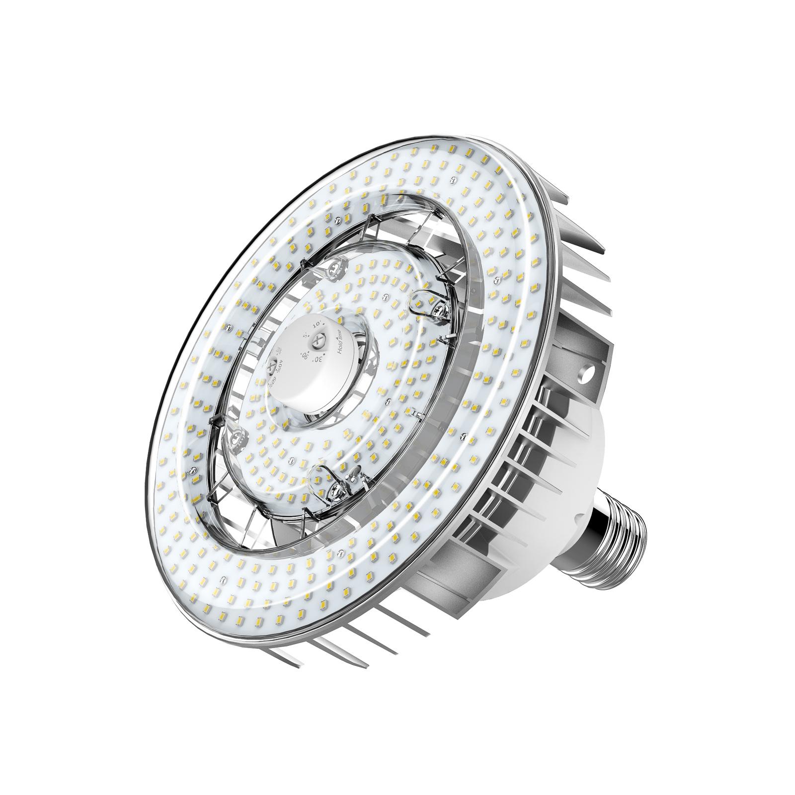 Sylvania LED-pære E40 inkl. PIR-sensor 115W 4000K