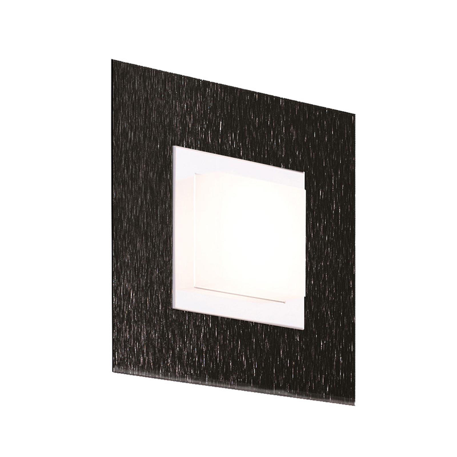 GROSSMANN Basic LED vegglampe, 1 lyskilde, svart
