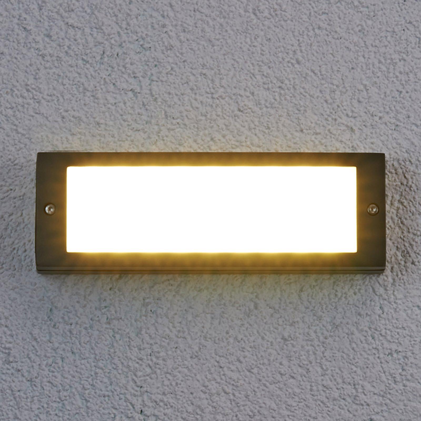 Energooszczędna zewn. lampa ścienna LED Rachel