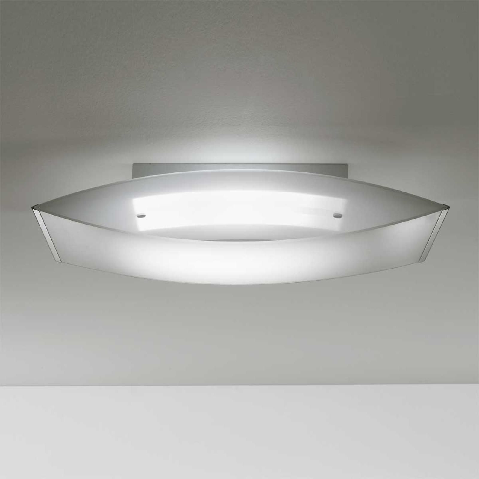 Gewelfde plafondlamp POEMA 9130, 66 x 34 cm