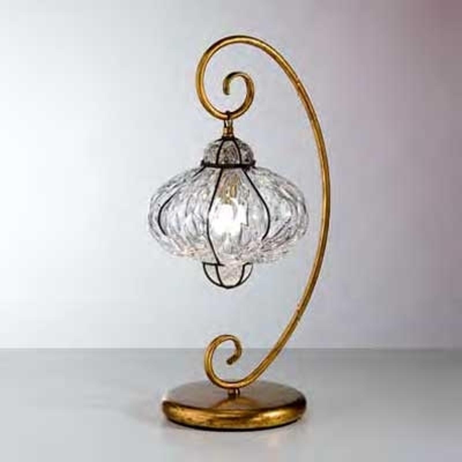 Oriëntaalse tafellamp SULTANO, handgemaakt