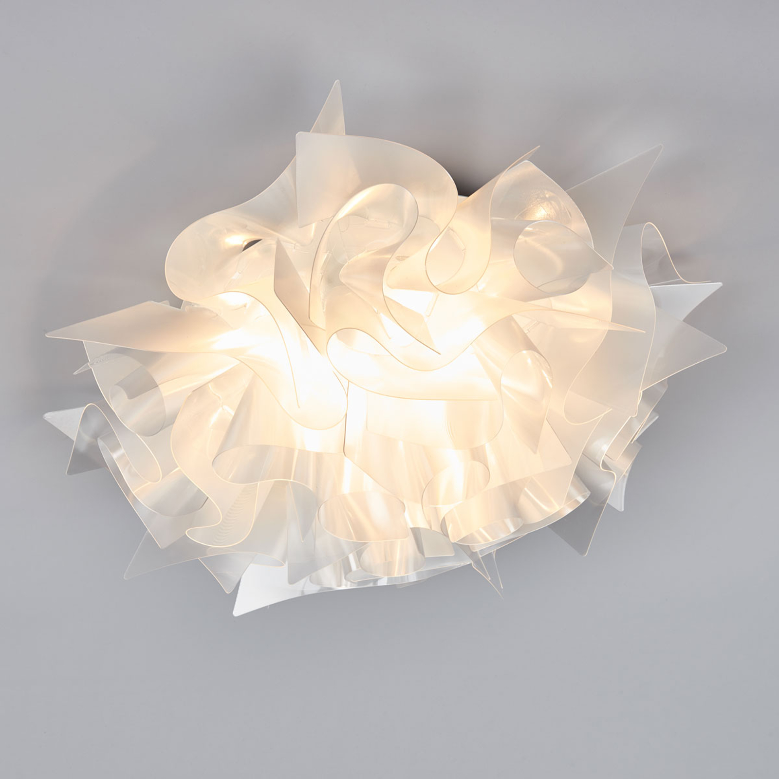 Slamp Veli Prisma - design-plafondlamp, Ø 53cm