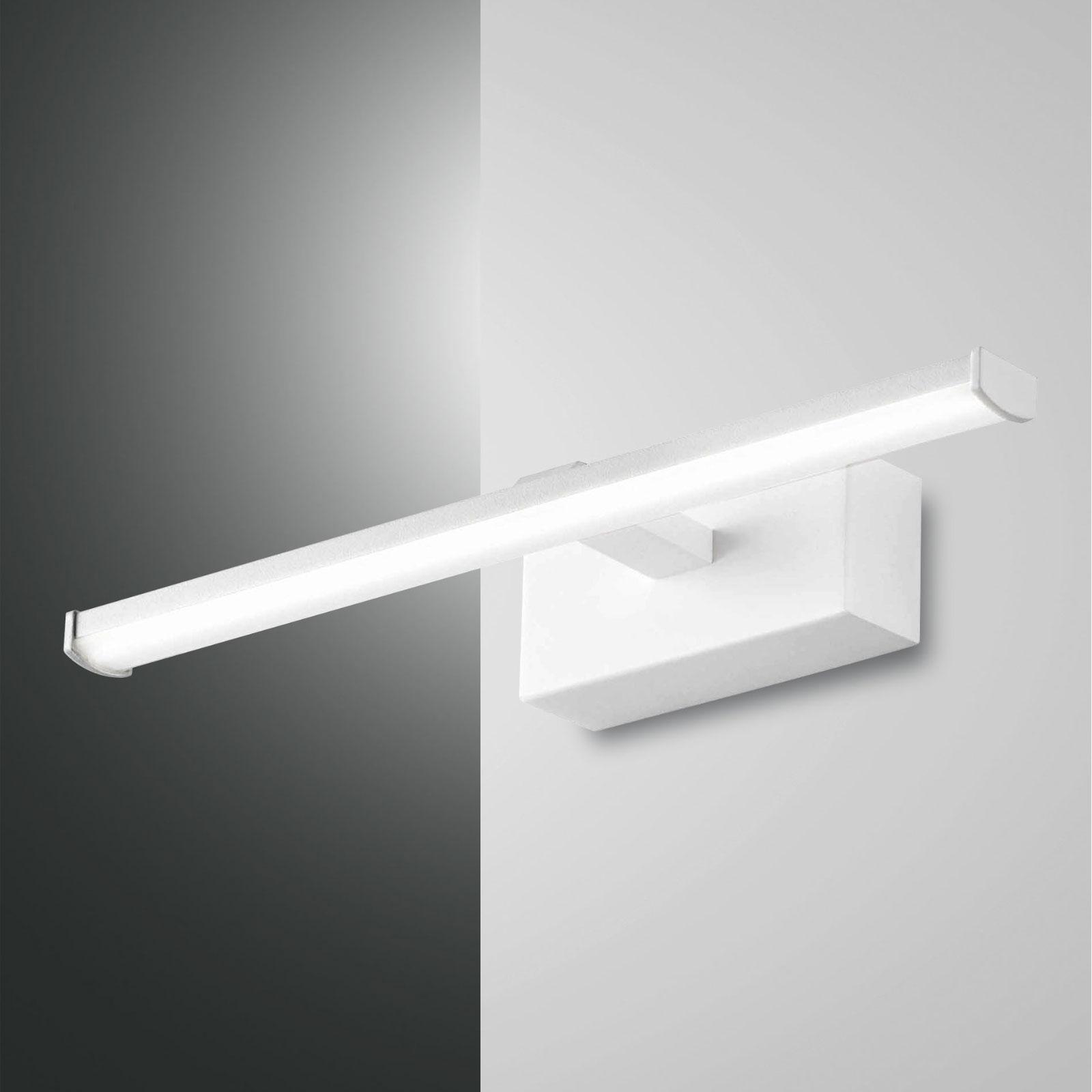 Applique LED Nala, blanche, largeur 30cm