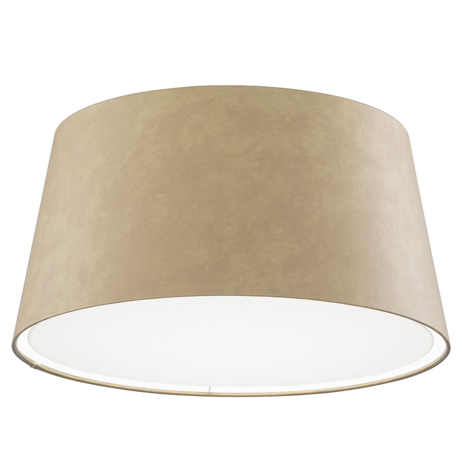 LED-taklampe Louise, dimbar, 3000K, sand
