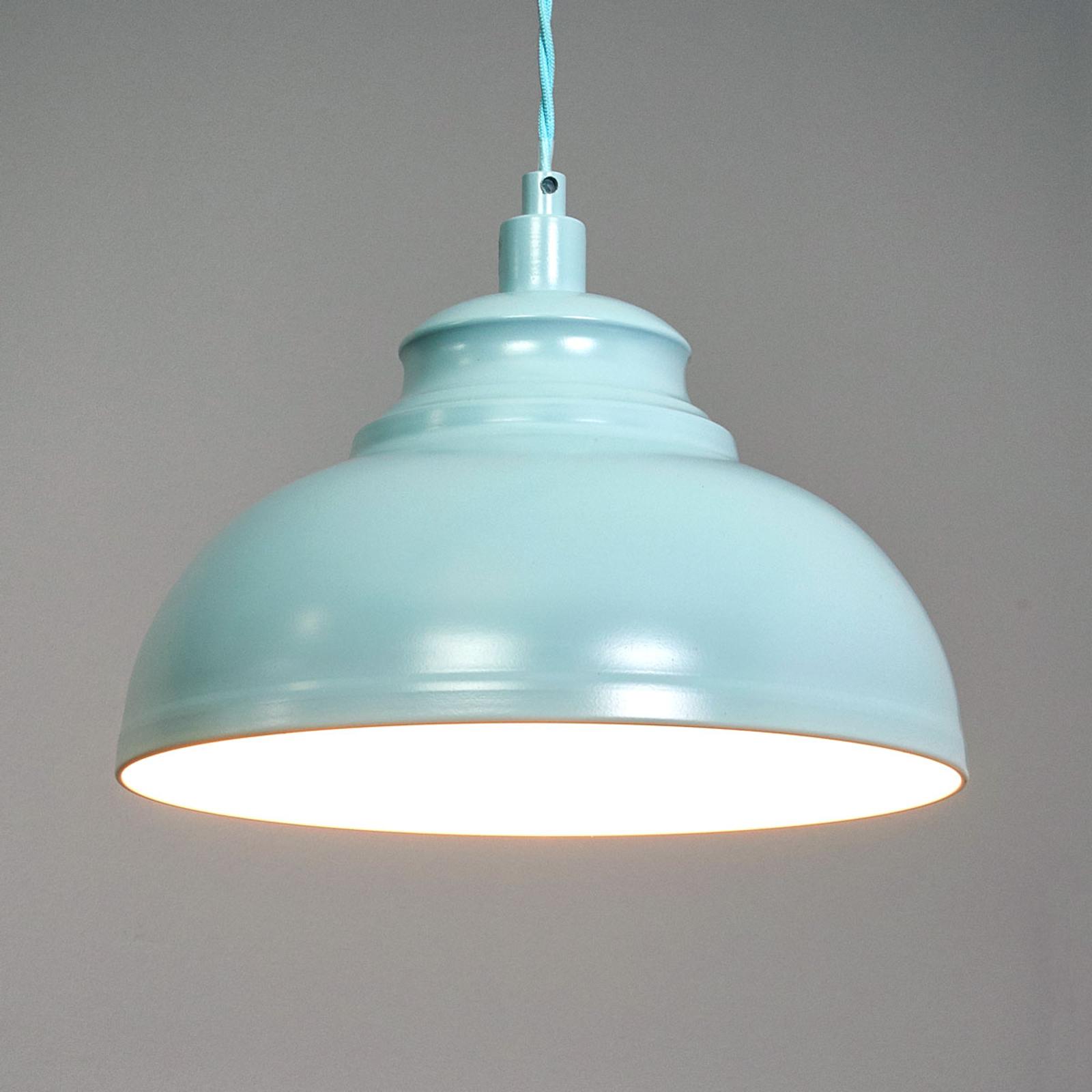 Isla - lampa wisząca delikatnie niebieska