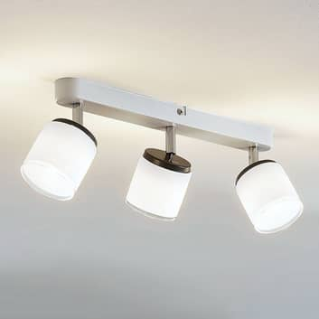 LED-takspot Futura 3 lyskilder lang