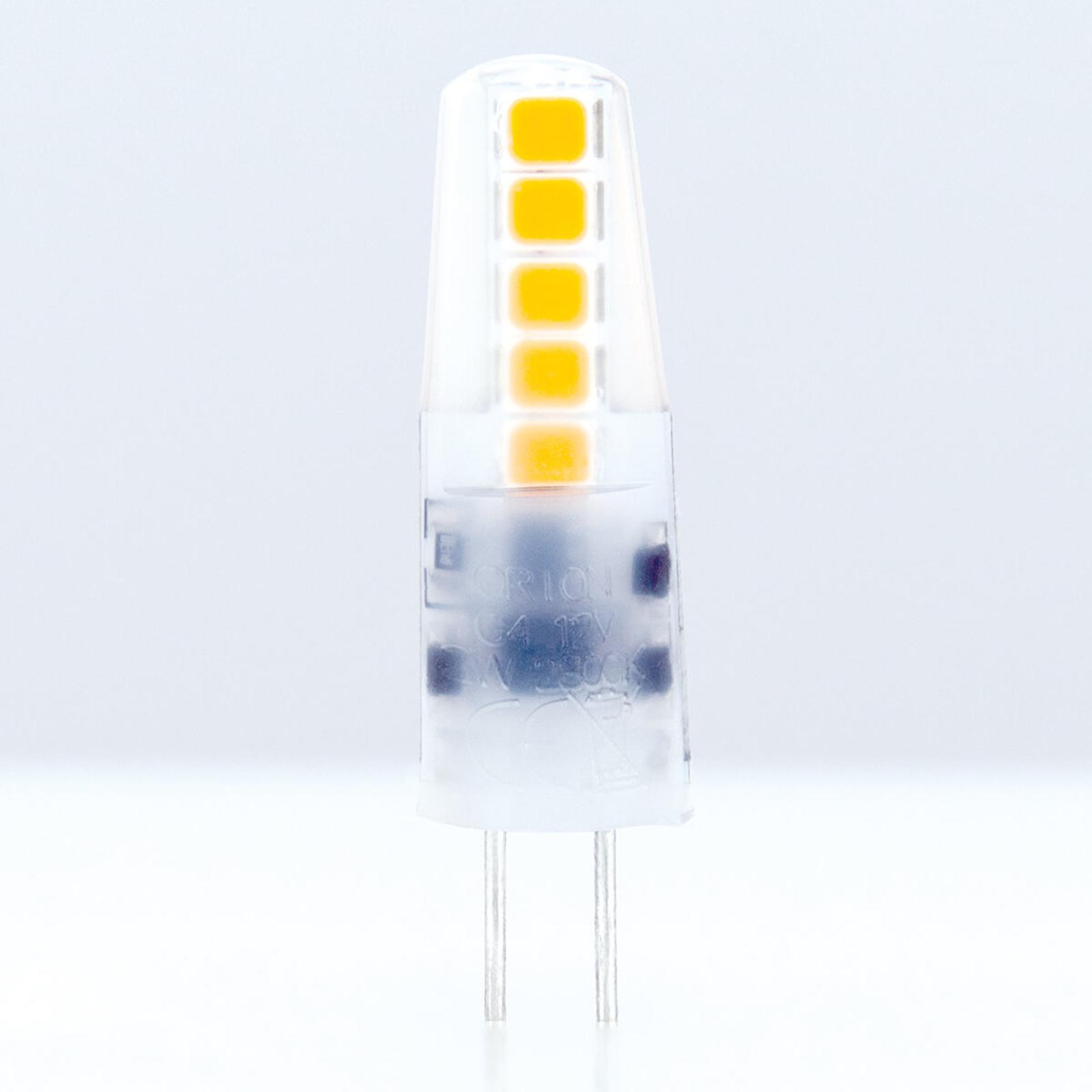 G4 12 V 2 W 828 LED-lyspære med stiftsokkel matt