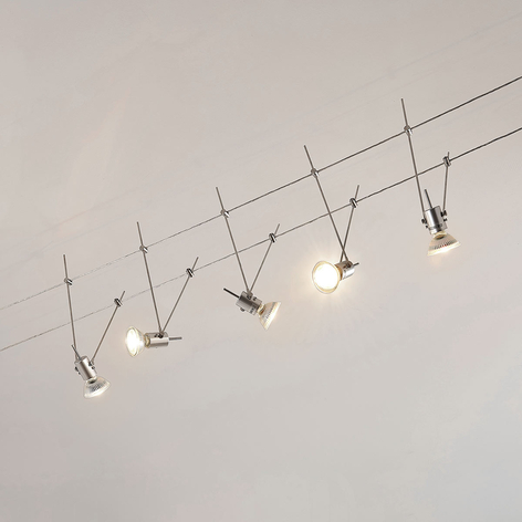 LED-linsystem Marno, 5 lampor