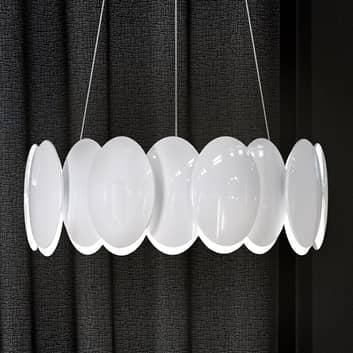 Milan Obolo - lámpara colgante LED redonda, 42,9cm